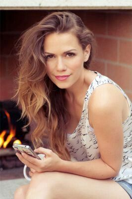 Bethany Joy Lenz. Serious hair envy.
