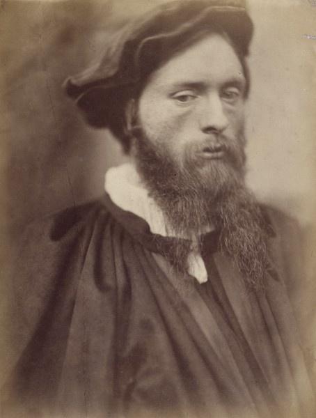 Edward Burne-Jones A.R.A. by David Wilkie Wynfield - http://pinterest.com/pin/158118636887319369/ -(both were members of The Artists Rifles).
