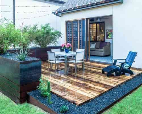 360 best terrasse images on Pinterest Decks, Garden ideas and - construction d une terrasse bois