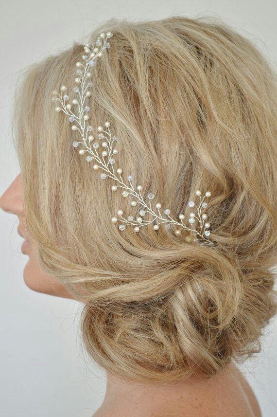 349 best bijoux mariage accessoires cheveux coiffure. Black Bedroom Furniture Sets. Home Design Ideas
