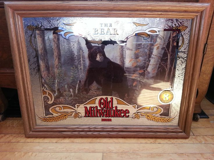 Old Milwaukee Beer Complete Set 8 Wildlife Sportsman