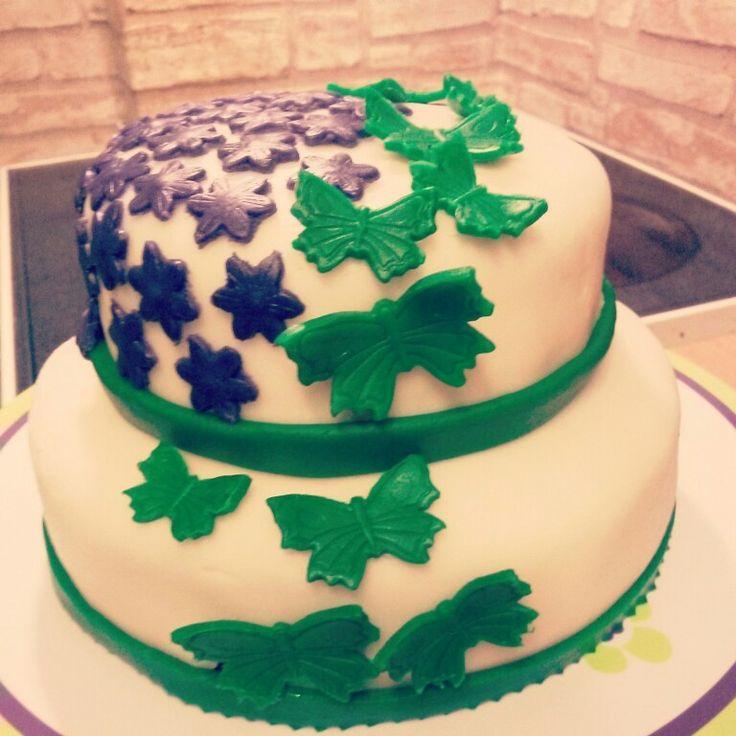 Butterflie cake