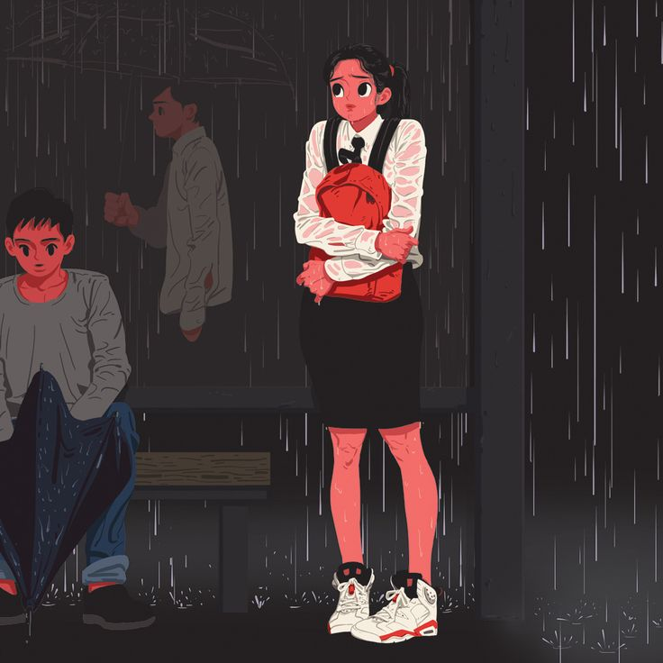 The way home from school - Kim Jungyoun
