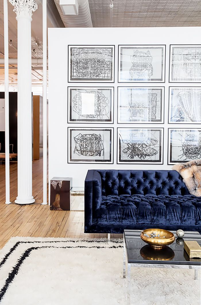 tufted furniture trend. crushing it 12 times blue velvet made us swoon tufted furniture trend a