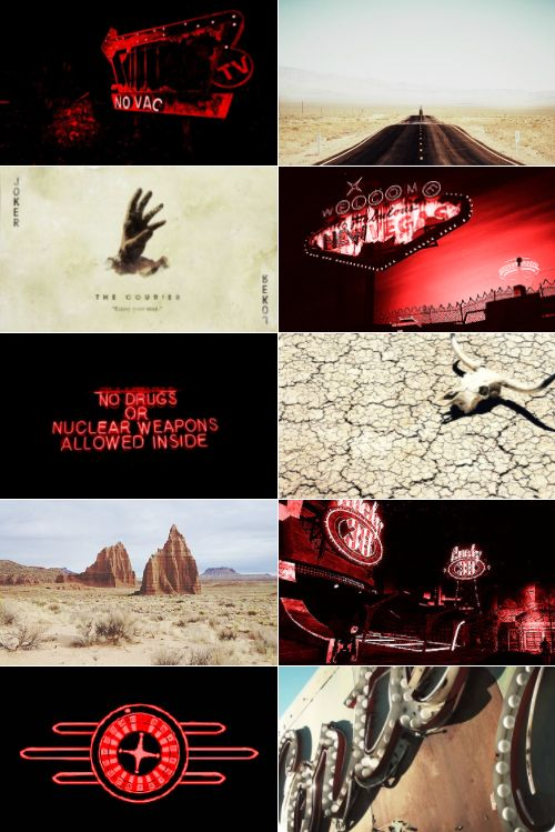 Otherkin Aesthetic: 298/?: Courier 6 from Fallout New Vegas