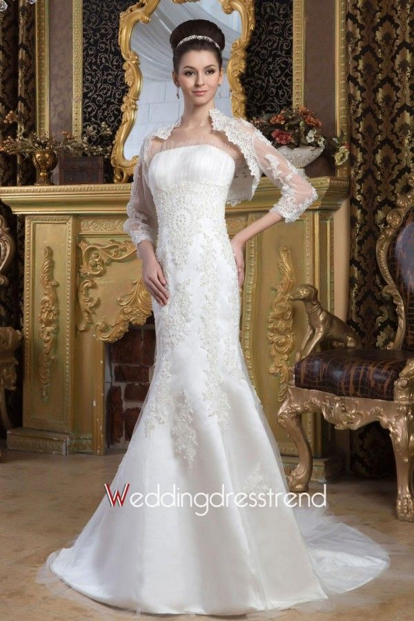 Beautiful Applique Sweetheart Mermaid Wedding Dress - Shop Online for Wedding Dresses at Low Prices