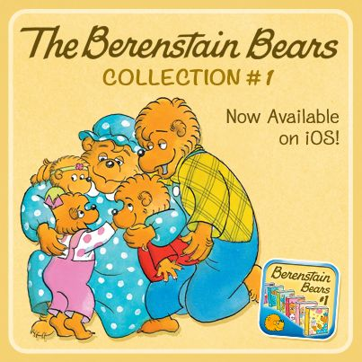 1 app. 6 Berenstain Bears books. Endless reading fun!  The Berenstain Bears Collection #1 is available in the App Store today!