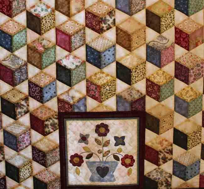 quilt exhibition cheng friendship diamonds - link