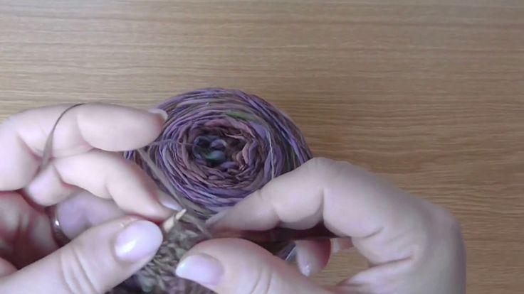 Škola pletení - Trojúhelníkový nákrčník 1. díl
