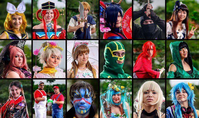 Костюмы участников фестиваля аниме (26 фото)