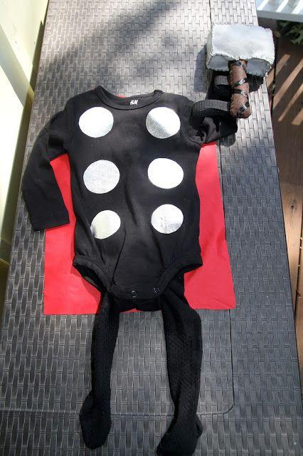 Baby/Toddler Thor Costume