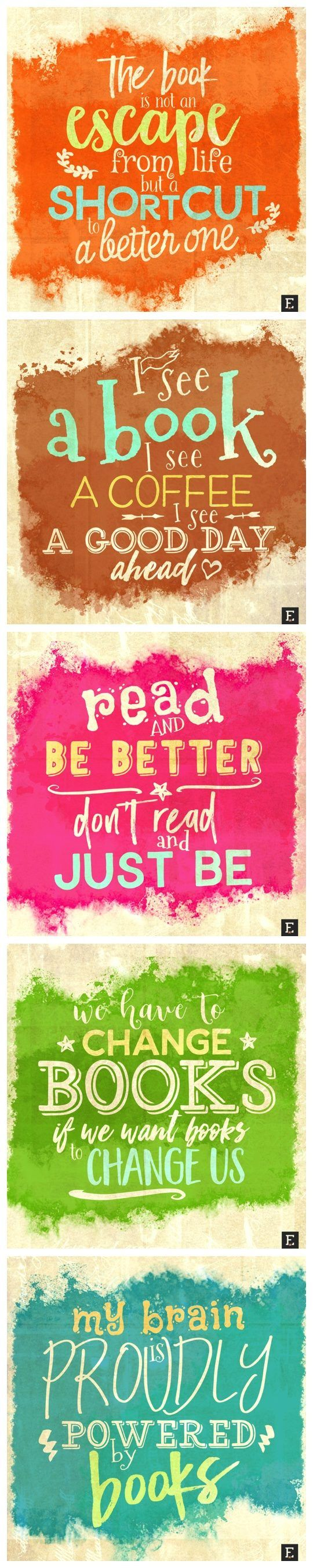 A couple of new quotes about #books #libraries #reading. Enjoy!