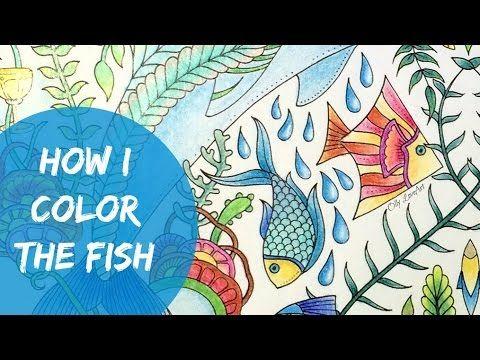 lost ocean coloring book how i color the fish oceano perdido