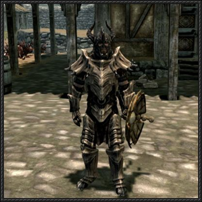 The Elder Scrolls V: Skyrim - Male Dragonbone Armor Free Papercraft Download - http://www.papercraftsquare.com/elder-scrolls-v-skyrim-male-dragonbone-armor-free-papercraft-download.html