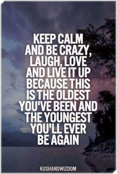 Keep Calm because. ..