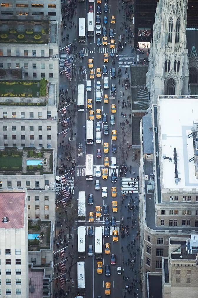 Aerial New York City   by Cameron Davidson