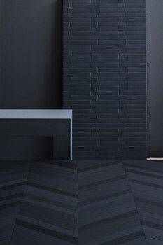 love :: mutina mews 'ink' - my new favourite tile. The variations of navy and matt finish are to die for!