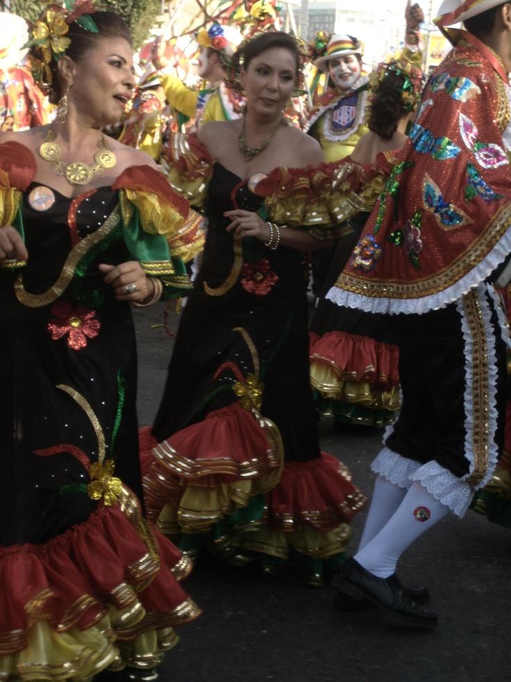 Batalla de Flores 2012, Barranquilla Colombia