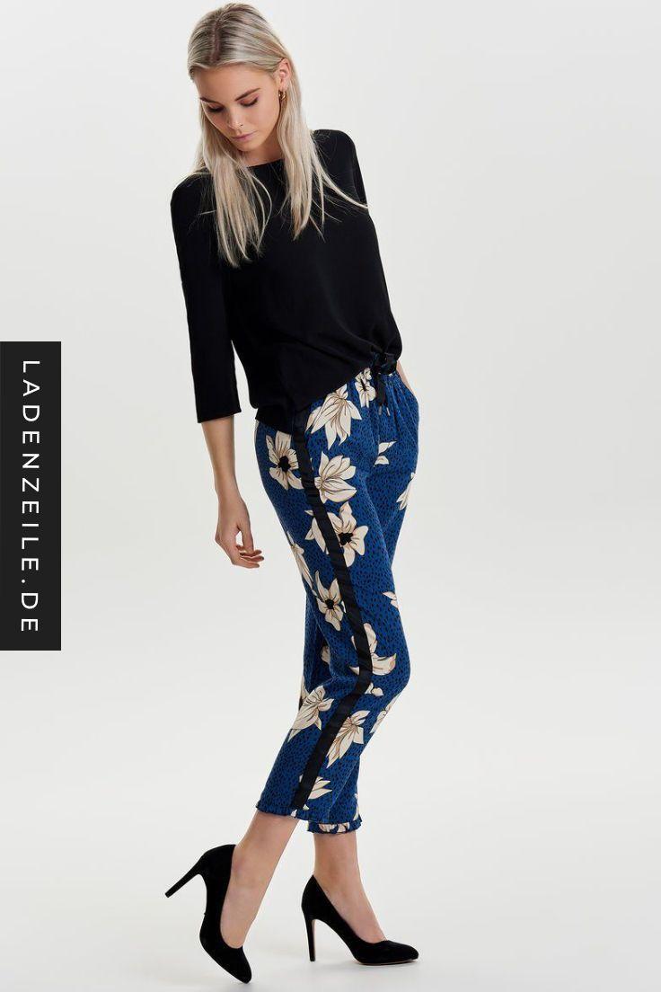 Druckhosen Für Damen Ladenzeilede Mode Wohnen Damen