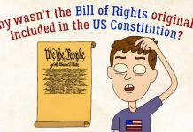 Why wasn't the Bill of Rights originally in the US Constitution?