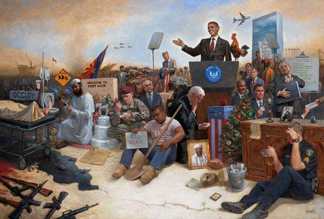 Präsident Barack Obama hielt am Dienstagabend seine letzte Rede zur Lage der Nation. Sie demonstrierte, dass das politische System Amerikas nicht in der Lage ist, sich mit irgendeiner gesellschaftl…