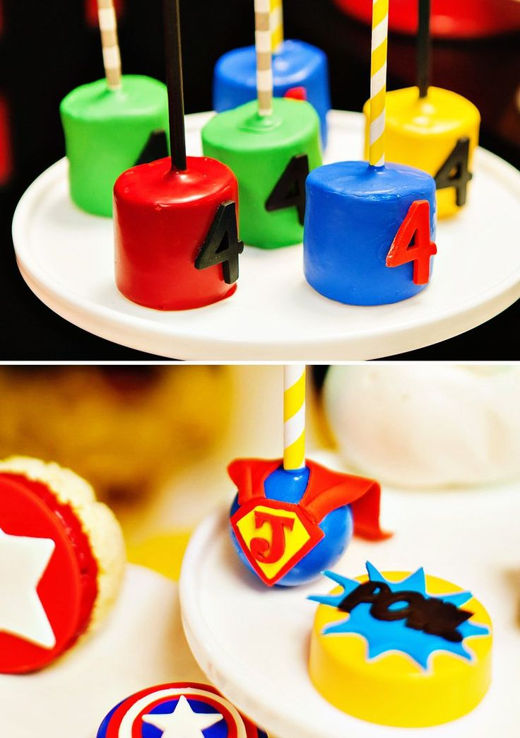 """Marshmallow Pops for Birthdays 