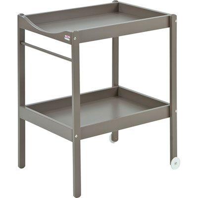 Combelle Table à langer alice laqué taupe