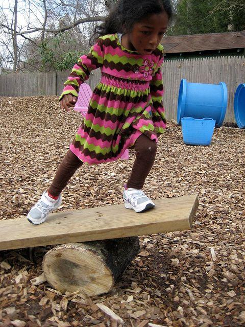 Balancing by Takoma Park Cooperative Nursery School, via Flickr