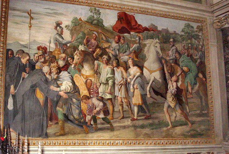 Meeting of St Nilus and Otto III (Domenichino).jpg