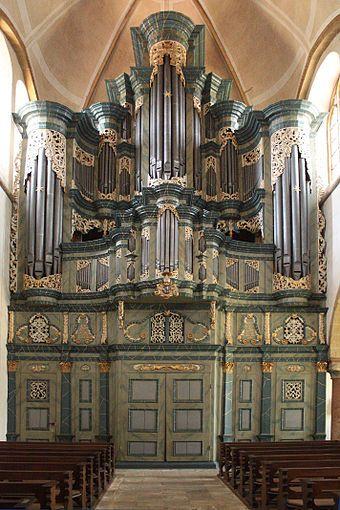 Kloster Marienfeld Möller Orgel