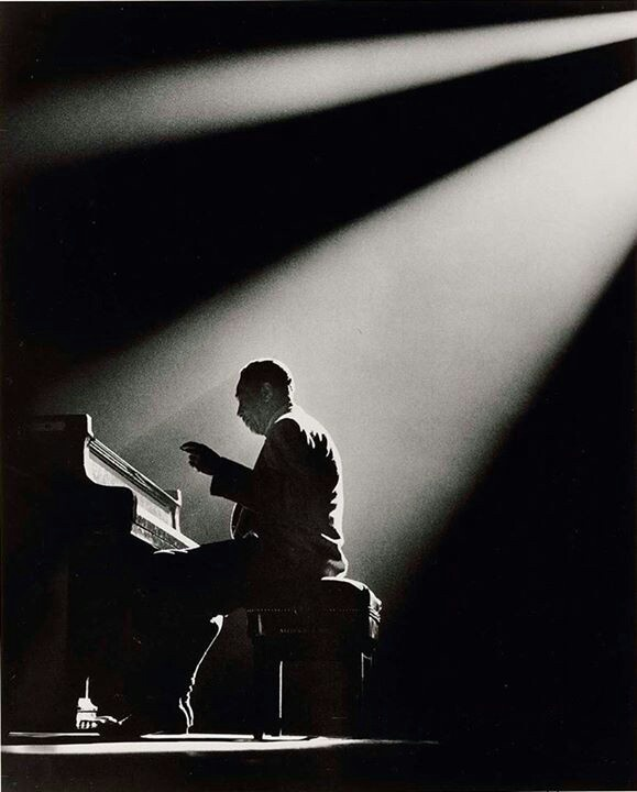Herman Leonard, duke ellington, paris 1958