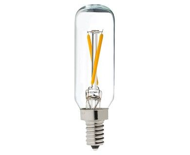 T8 LED Filament Bulb - 20 Watt Equivalent Candelabra LED Vintage Light Bulb - Radio Style - Dimmable - 200 Lumens | Vintage LED Light Bulbs | Super Bright LEDs