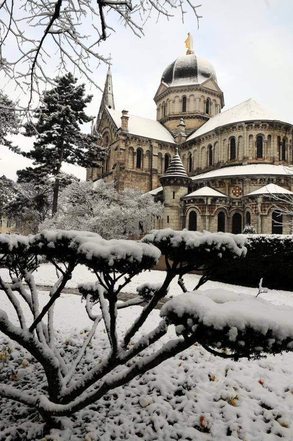 Châteauroux sous un manteau de neige - Diaporama NR