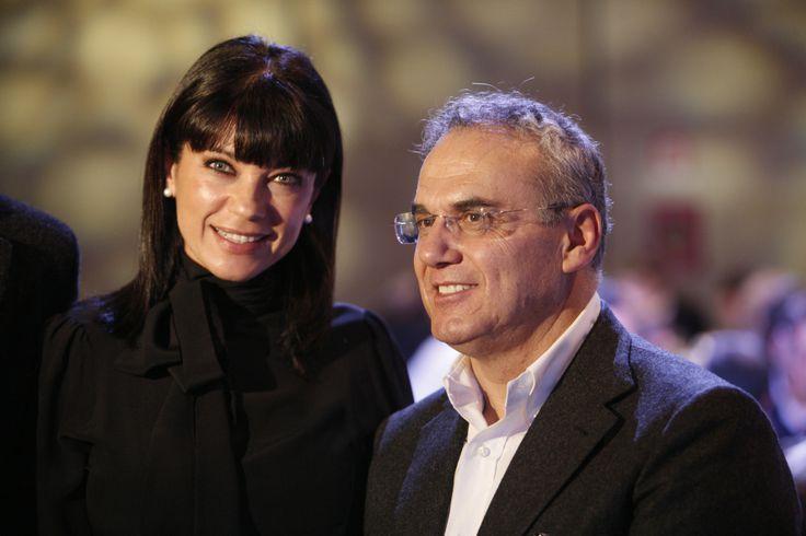 Ana Laura Ribas con Enrico Bracalente #stileitaliano #NeroGiardini