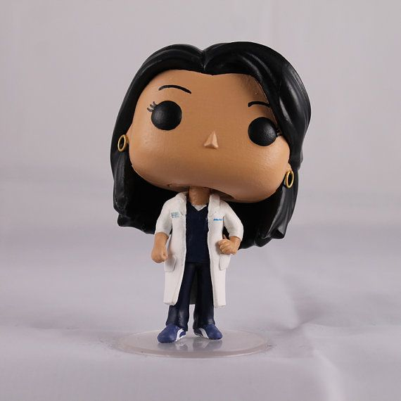 Custom Funko Pop  Grey's Anatomy's Callie Torres by SpasticCustoms