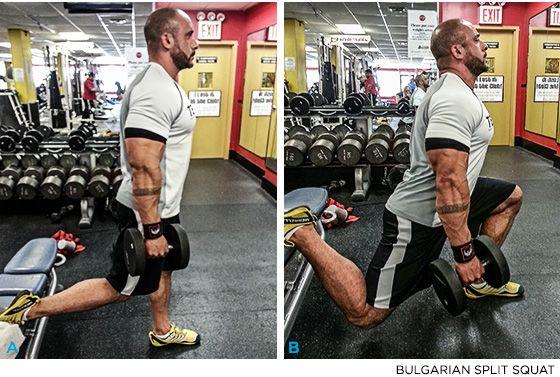 Posterior Chain Gains: 4 Butt-Building Moves - Bulgarian Split Squat - Bodybuilding.com