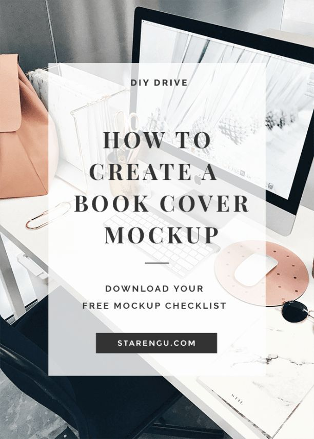Book Cover Mockup Tutorial ~ Best how to graphic design tutorials tools