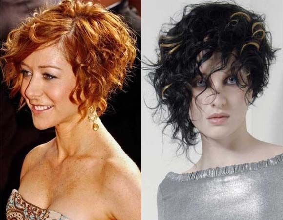 Bob Style Haircuts For Curly Hair: Best 25+ Curly Asymmetrical Bob Ideas On Pinterest