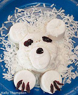 Polar Bear Ice Cream Treat - National Wildlife Federation