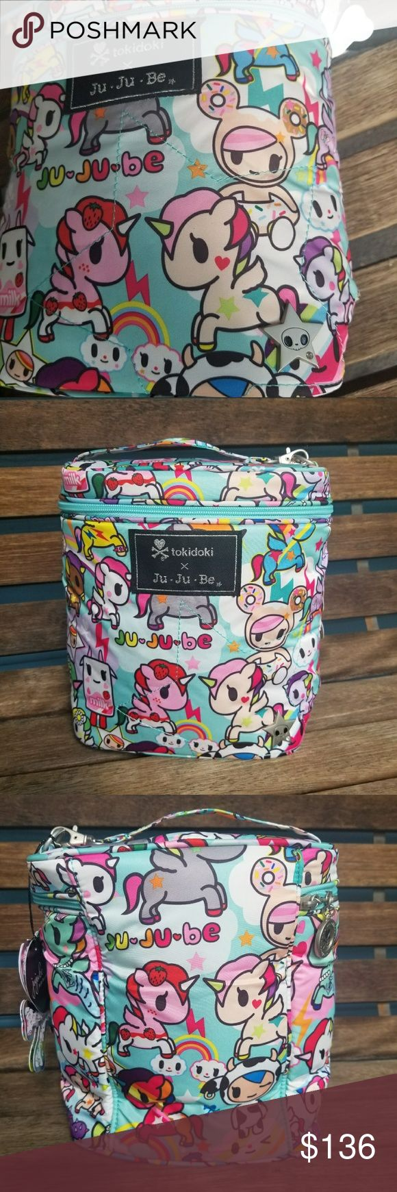 Tokidoki Jujube Fuel Cell NWT Amazing PPP, Donutella on front, JuJuBe, Perla, Motzarella,  strawberry Latte, &More, Brand New in Bag , only opened for pics. Tokidoki JuJuBe Bags Mini Bags