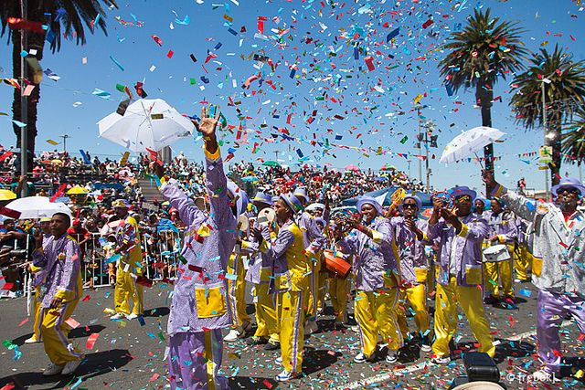 KAAPSE KLOPSE, Coon Carnival or Cape Town Minstrel Carnival - 2nd of January.