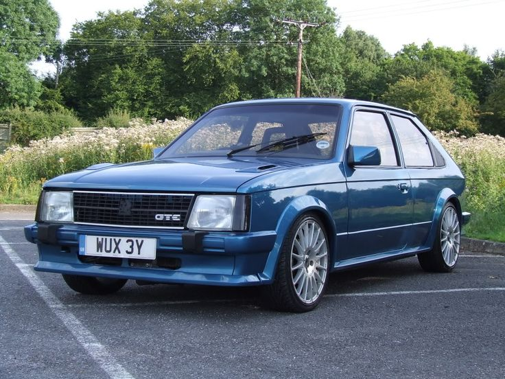 vauxhall astra mk1 GTE...i had one of these in silver great car except for the harch window was prone to rusting around the seal..