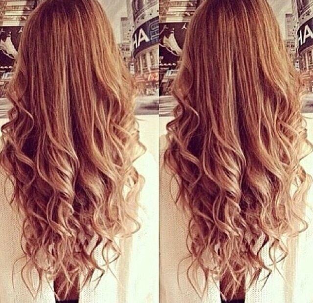 Loose bottom curls | Wedding | Pinterest
