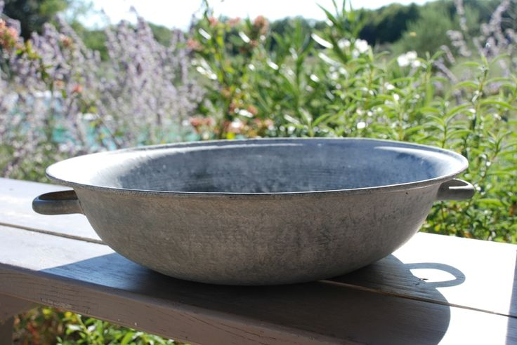 Bassines zinc coups de c ur pinterest - Deco bassine en zinc toulon ...