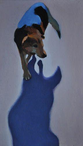 Cień, olej na desce http://www.alesztuka.com/klaudia_mostowik/cien\ #malarstwo #sztuka #alesztuka #galeriasztuki
