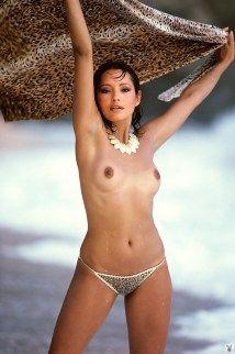 Barbara Carrera - Playboy March 1982.10