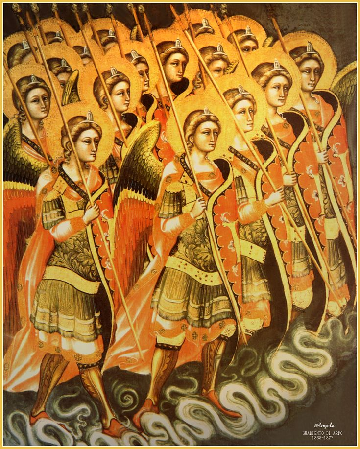 9 choirs of angels article http://www.catholictradition.org/Angels/angels10a.htm