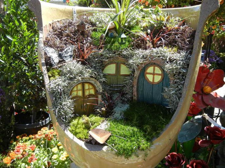 Gnome Garden: How To Make Miniature Fairy
