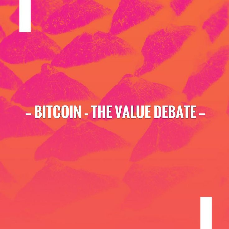 New on my blog! Bitcoin – The Value Debate https://planetcryptosite.wordpress.com/2017/08/03/bitcoin-the-value-debate/?utm_campaign=crowdfire&utm_content=crowdfire&utm_medium=social&utm_source=pinterest