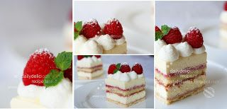 dailydelicious: President: Cream cheese mousse cake with a layer of raspberry sauce, you will serve it with pride!